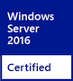 Certified for Windows Server 2016 x64